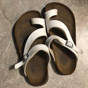 White BIRKENSTOCK BIRKS MIA sandals 👡